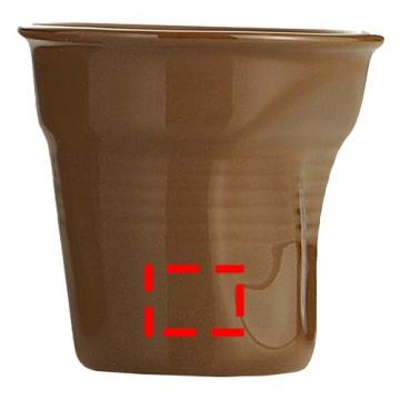 Tampografía PAD05-Taza marrón