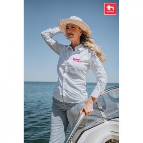 Camisa de popelina para mujer. Blanco Paris women