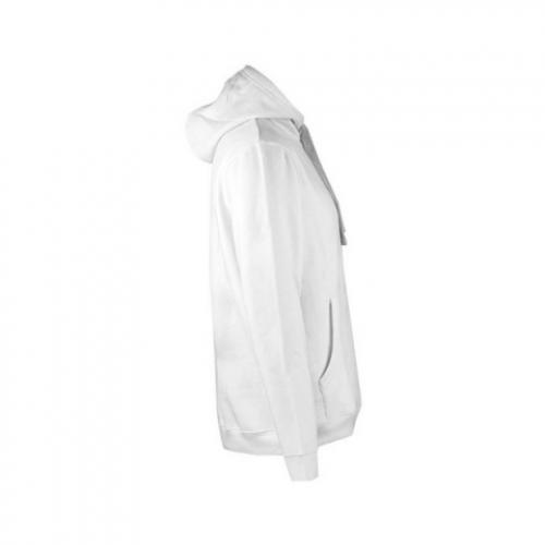 Sudadera blanca con capucha unisex Blanco Moscow