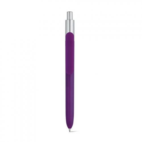 Kiwu chrome. Bolígrafo en abs con acabado brillante y punta con acabado cromado Kiwu chrome