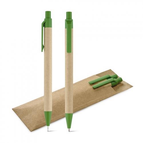 Set de bolígrafo y portaminas Leaf