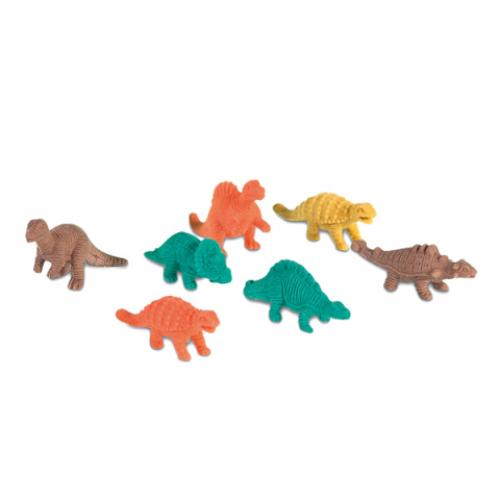 Set gomas de borrar Dinosaur