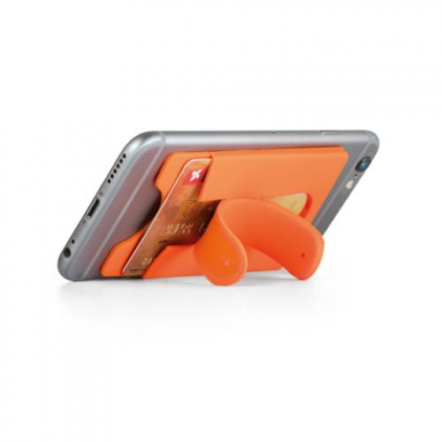 Porta tarjetas con adhesivo móvil Carver