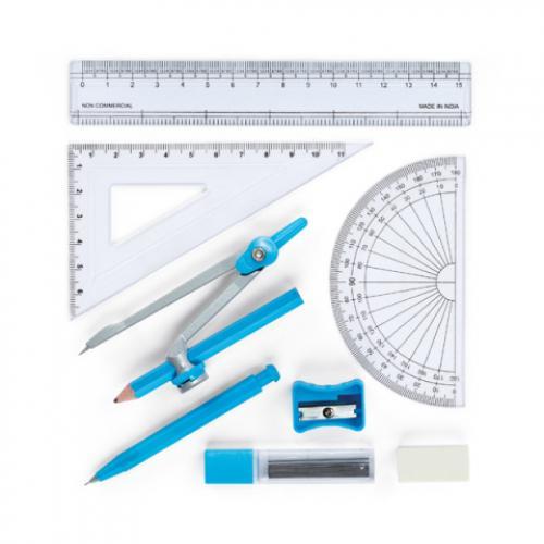 Set escolar para geometría Pitagoras