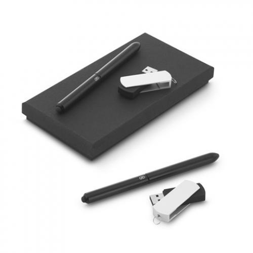 Set de bolígrafo y memoria usb 4gb Thales