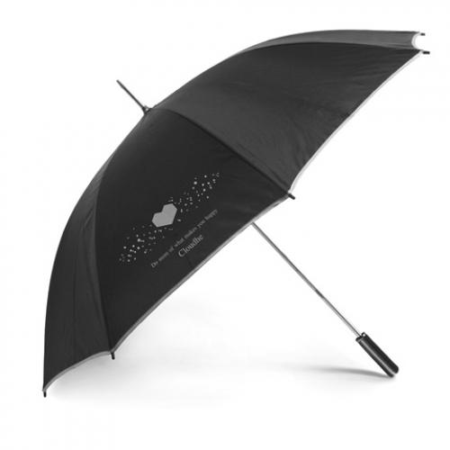 Paraguas de golf grande negro con Ø 122 cm Karl