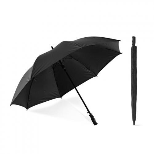 Paraguas grande negro de golf con Ø 117 cm Felipe