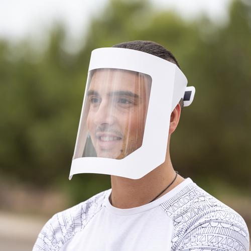 Pantalla facial Muns