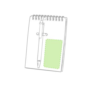 Impresión B-En el bolígrafo, en el clip