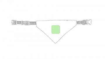 Impresión E-Centrado en la pañoleta