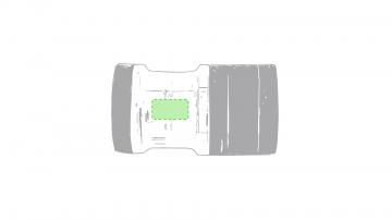 Impresión D-En el lateral de la zona transparente