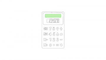 Impresión E-Sobre la pantalla de resultado