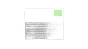 Impresión G-En la parte derecha de la solapa superior