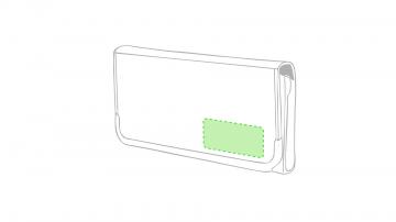 Impresión E-Esquina inferior derecha de la solapa