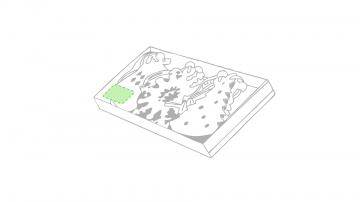 Impresión C-En la caja de presentación (esquina inferior)