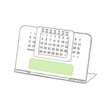 Impresión E-Debajo de los números