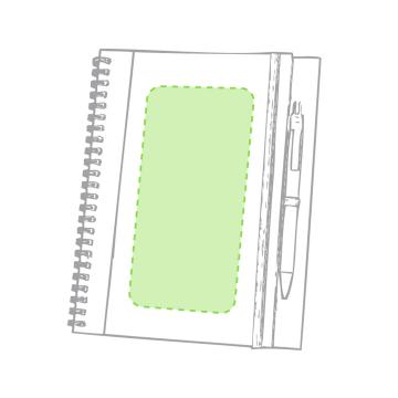 Impresión B-En el bolígrafo cara a