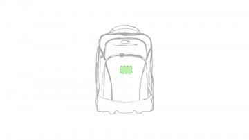 Impresión K-En el bolsillo principal