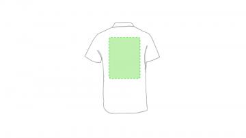 Impresión E-En el pecho izquierda tipo bolsillo