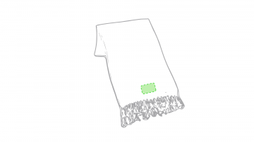 Impresión E-En el extremo del foulard