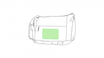 Impresión G-Centrado bajo la cremallera