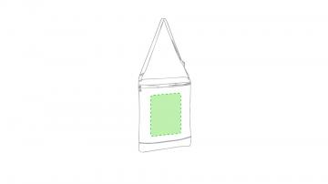 GRABACIÓN TRANSFER DIGITAL-En la cara de la cremallera, centrado