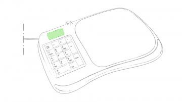 Impresión F-Encima del teclado