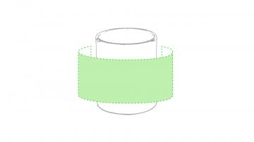 Sublimación Q-Centrado alrededor de la taza
