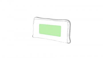Impresión F-Sobre la bolsa plegada