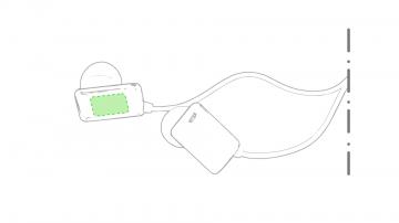 Impresión E-En el auricular izquierdo