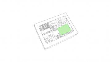 Impresión E-En la caja de presentación, en la esquina