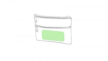 Impresión E-Debajo de la cremallera inferior