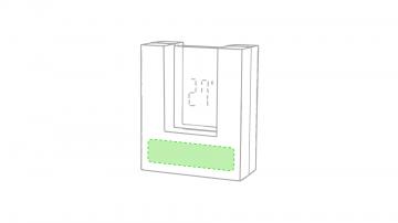 Impresión D-Debajo del reloj, parte mas ancha