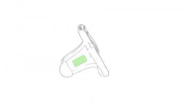 Impresión E-En la cara b del brazalete