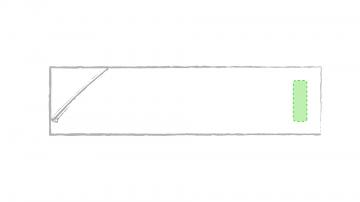 Impresión F-En el extremo opuesto al bolsillo