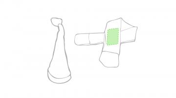 Impresión D-Sobre la bufanda