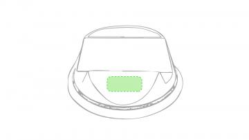 Impresión D-Cara frontal del soporte
