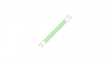 SUBLIMACIÓN TAMAÑO PEQUEÑO (-100 cm2)-A lo largo de la pulsera