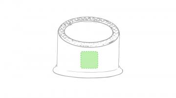 Impresión D-Parte frontal del soporte