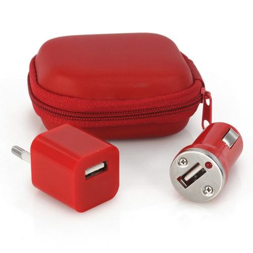 Set cargadores USB Canox