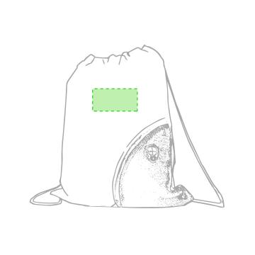 Impresión F-En la parte blanca de la cara principal