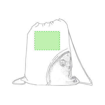 SUBLIMACIÓN TAMAÑO PEQUEÑO (-100 cm2)-En la parte blanca de la cara principal