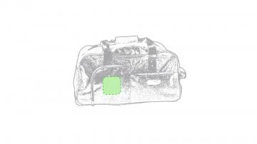 Impresión G-En el bolsillo cuadrado
