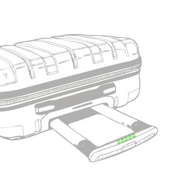 Impresión K-En el asa del trolley