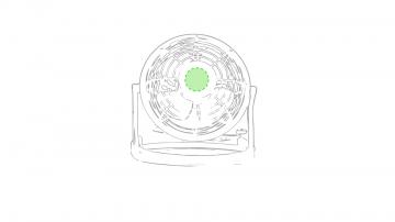 Impresión E-En el circulo del centro