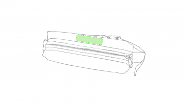 Impresión E-Encima de la cremallera