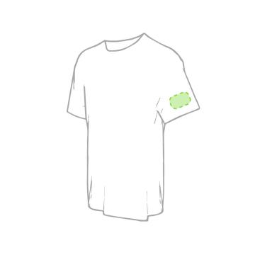 Impresión E-En el pecho tipo bolsillo (derecha)