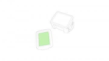 Impresión C-En el lateral ancho