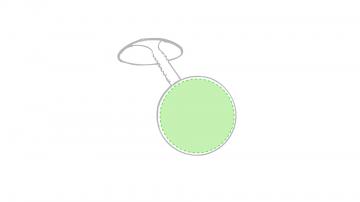 DOMING- GOTA DE RESINA V1 -5  cm2-Parte circular
