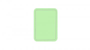 DIGITAL W3 (-25  cm2)-Sobre toda la superficie